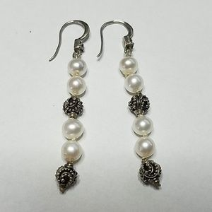 Lois Hill Freshwater Pearl Drop Earrings